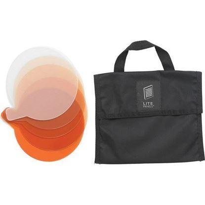 Picture of Litepanels Sola 9 5-Piece CTO Gel Set with Gel Bag