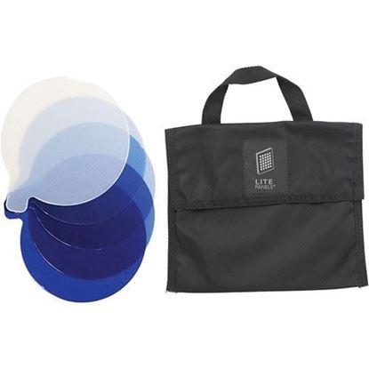 Picture of Litepanels Inca 9 5-Piece CTB Gel Set with Gel Bag