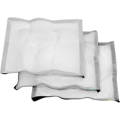 Picture of Litepanels Cloth Set for Snapbag Softbox for Astra 1x1 and Hilio D12/T12
