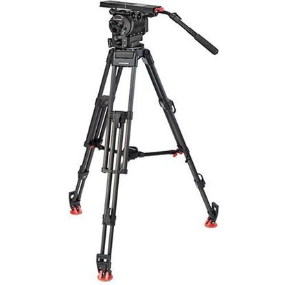 Picture of OConnor 2560 Head & 60L Mitchell Tripod with Mid Level Spreader