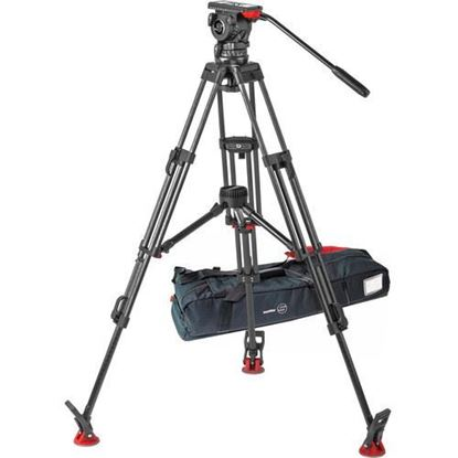 Picture of Sachtler FSB 10 T ENG 2 MCF Carbon Fiber Tripod System with Touch & Go Plate (100mm)