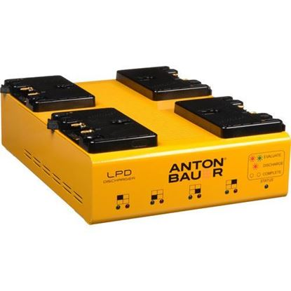Picture of Anton Bauer LPD Quad Gold Mount Discharger