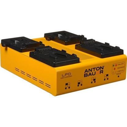 Picture of Anton Bauer LPD Quad V-Mount Discharger