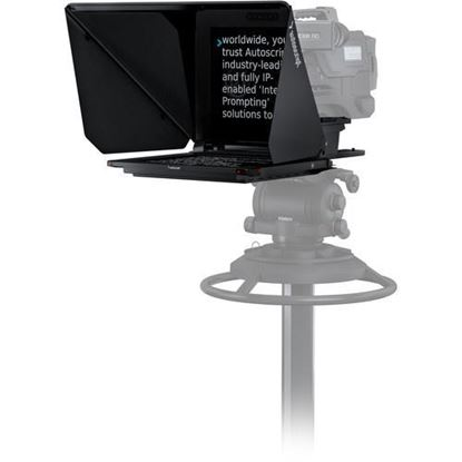 """Picture of Autoscript EVO-IP on-camera package with 17"""" prompt monitor"""