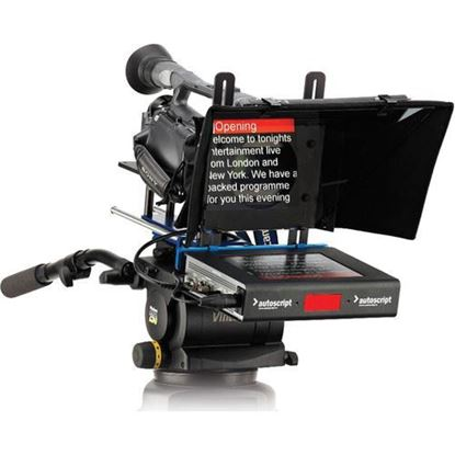"""Picture of Autoscript 8"""" (20.3 cm) High Bright LED On-Camera Prompter Package."""