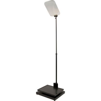 """Picture of Autocue Manual Conference Stand, Glass and Professional Series 17"""" Monitor"""