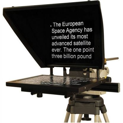 """Picture of Autocue Professional Series 17"""" with Medium Wide Angle Hood and Pro Plate"""