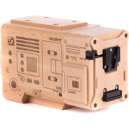 Picture of Wooden Camera - Wood Sony Venice Model with Wood AXS-R7