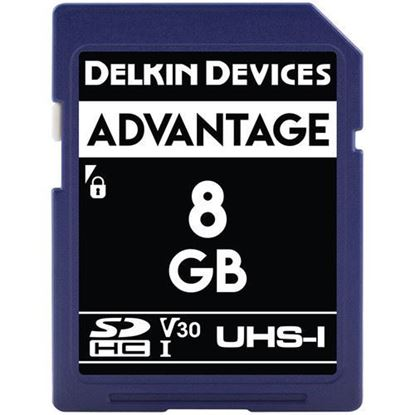 Picture of Delkin Devices 8GB Advantage UHS-I SDHC Memory Card