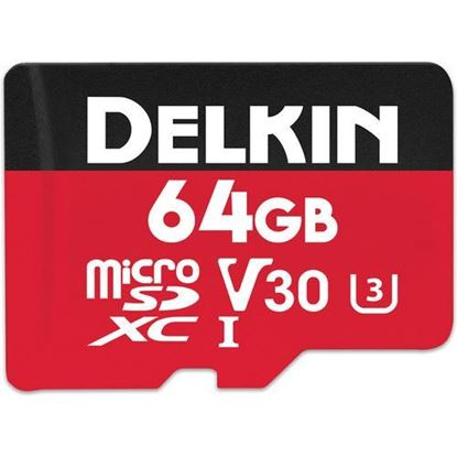 Picture of Delkin Devices 64GB Select UHS-I microSDXC Memory Card