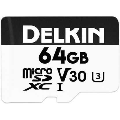 Picture of Delkin Devices 64GB Advantage UHS-I microSDXC Memory Card