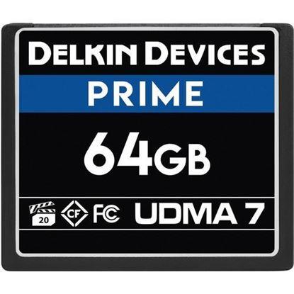 Picture of Delkin Devices 64GB Prime UDMA 7 CompactFlash Memory Card