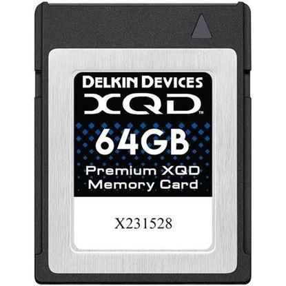 Picture of Delkin Devices 64GB Premium XQD Memory Card