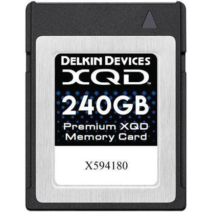 Picture of Delkin Devices 240GB Premium XQD Memory Card