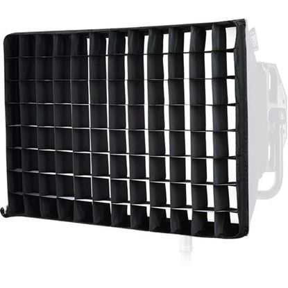 Picture of Litepanels Snapgrid for Gemini Dual 2x1 LED Panel Snapbag (40 Degrees)