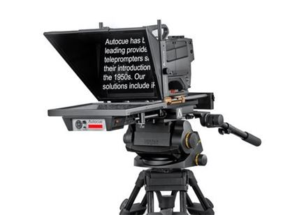 """Picture of Autocue/QTV Master Series 17"""" Teleprompter"""