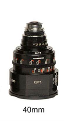 Picture of 40mm Optica Elite S7 Anamorphic Lens - Feet
